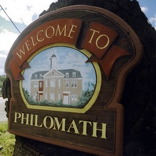 Image of welcome to Philomath sign